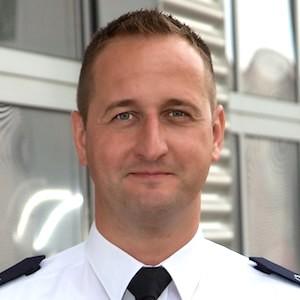 Stadtbrandinspektor Christoph Müller