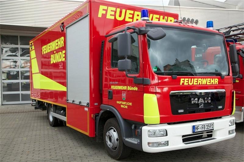 Gerätewagen Logistik / Atemschutz