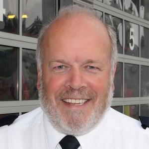 Stadtbrandinspektor Rüdiger Meier